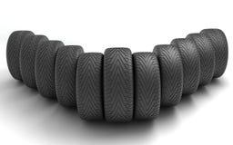 колеса спорта иконы автомобиля 3d Шприц концепции design Стоковое Изображение