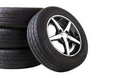колеса спорта иконы автомобиля 3d Стоковое Фото