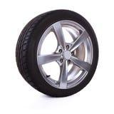 колеса спорта иконы автомобиля 3d Стоковая Фотография