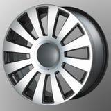 колеса спорта иконы автомобиля 3d Стоковые Изображения RF