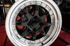 Колеса сплава автомобиля Стоковое Изображение RF