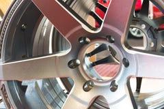Колеса сплава автомобиля Стоковая Фотография