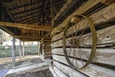 3 колеса телеги Стоковые Фотографии RF
