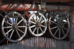 Колеса телеги Стоковое Изображение RF