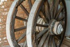 Колеса телеги Стоковое Фото