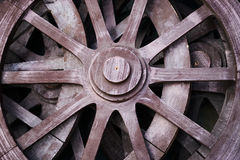 Колеса телеги Стоковое фото RF