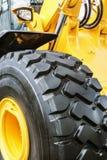 Колеса тележки и подвес трактора Стоковая Фотография