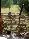 колеса тележки Стоковая Фотография
