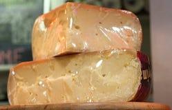 Колеса швейцарского сыра Стоковые Фотографии RF