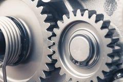 Колеса шестерни двигателя, промышленная предпосылка Стоковое Изображение RF