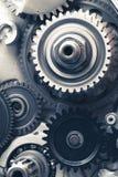 Колеса шестерни двигателя Стоковое Фото