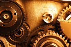 Колеса шестерни двигателя Стоковые Фото