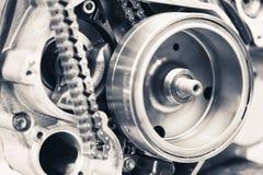 Колеса шестерни двигателя Стоковые Изображения