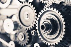 Колеса шестерни двигателя Стоковая Фотография RF