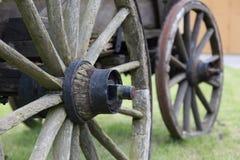 2 колеса экипажа Стоковые Фото