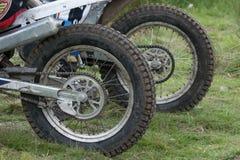 Колеса Motocross Стоковое фото RF