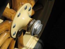 колесо античного автомобиля Стоковое Изображение RF