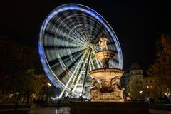 Колесо Будапешта Ferris стоковое изображение