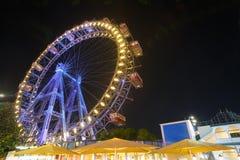 колесо вены prater ferris гигантское Стоковое Изображение RF