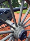 Колесо взгляда правильной позиции карамболя гражданской войны Стоковые Фото