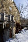 Колесо воды Gristmill Стоковые Фотографии RF
