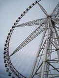 Колесо и небо Ferris Стоковые Изображения