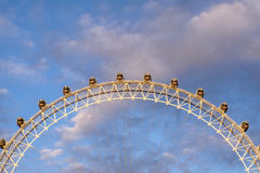 Колесо Лондона стоковые изображения rf