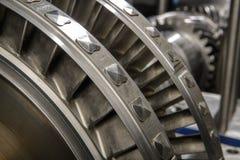 Колесо малой паровой турбины Стоковое фото RF