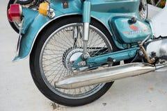 Колесо мотоцикла заднее, автошина, тормоз Стоковая Фотография RF