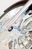 Колесо мотоцилк Стоковые Фотографии RF
