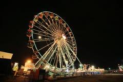 колесо парка ferris занятности Стоковое Изображение