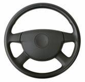 колесо перевозки управления рулем автомобиля нутряное Стоковые Изображения RF