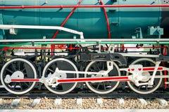 Колесо поезда Стоковые Фото