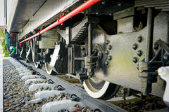 Колесо поезда Стоковое Изображение RF