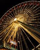 колесо пристани военно-морского флота ferris chicago Стоковая Фотография