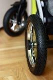 Колесо прогулочной коляски Стоковая Фотография RF