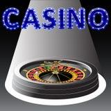 Колесо рулетки казино Стоковое Изображение RF