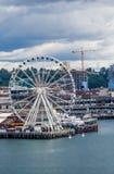Колесо Сиэтл Ferris Стоковое Изображение