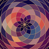 Колесо цвета спектра мозаики сделанное геометрических форм Радуга co бесплатная иллюстрация