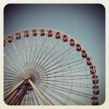 Колесо Чикаго Ferris стоковое изображение