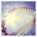 Колесо Чикаго Ferris стоковое фото rf