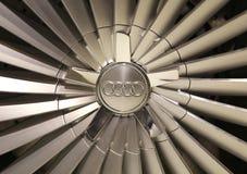 Колесо Audi Стоковые Фотографии RF