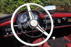 Колесо Benz Mercrdes Стоковое Изображение RF