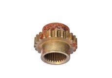 Колесо Cog, механически шестерня Стоковое фото RF
