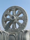 Колесо Dhama Стоковые Фото