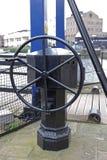 Колесо Drawbridge стоковое фото rf