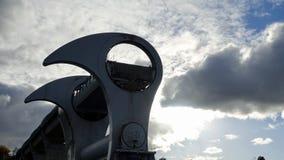 Колесо Falkirk Уникально подъем шлюпки стоковые фотографии rf