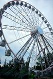 Колесо Ferris белого цвета Стоковые Изображения RF
