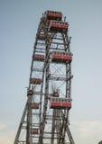 Колесо Ferris, вена Prater стоковое фото