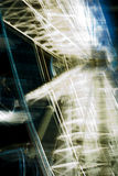 Колесо Ferris - закручивающ вокруг на ночу Стоковое фото RF